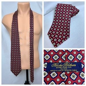 Vintage Brooks Brothers Makers Silk Necktie